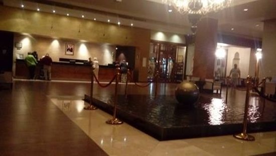 ClubHotel Riu Tikida Palmeraie: Reception but your not sleeping here remember glitz and glam to get you excited