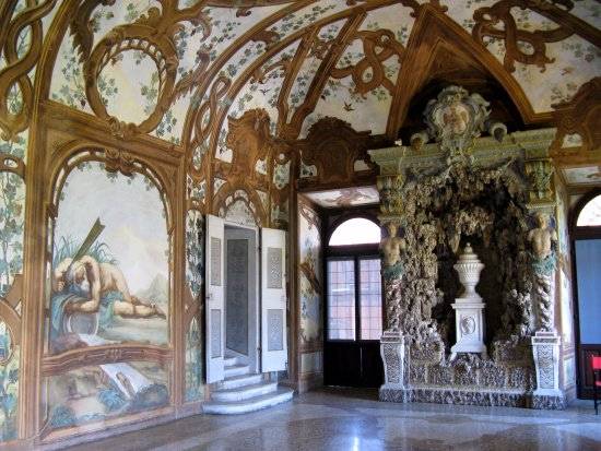 Museo di Palazzo Ducale. : Мантова, палаццо Дукале, зал Рек
