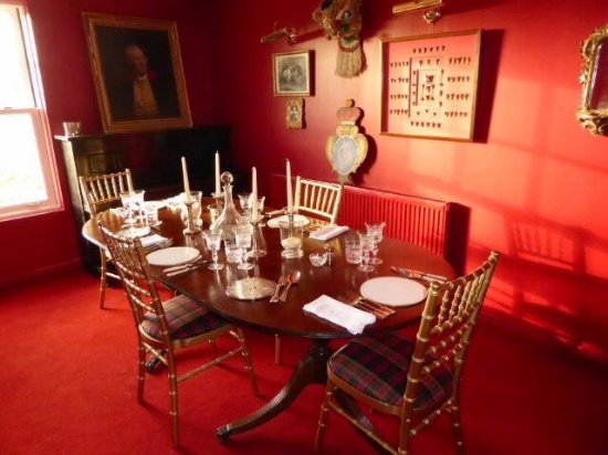 Dinner Rosie Banks Bed and Breakfast Umberleigh Devon EX37 9AF