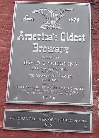 Pottsville, PA: Yuengling Sign.