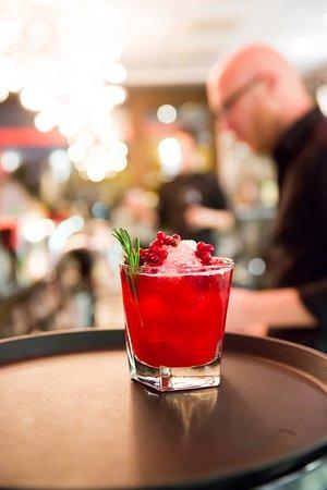 Varberg, السويد: Cocktail