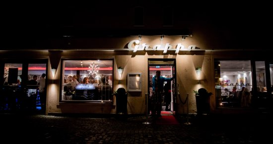 Varberg, السويد: Grappa by night