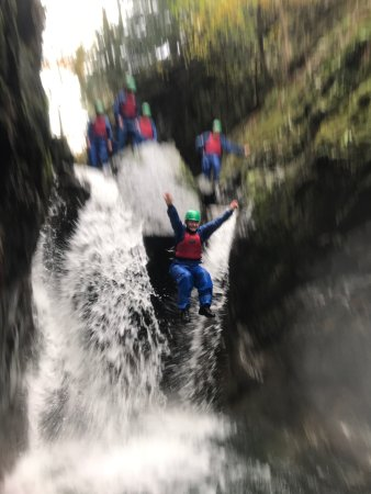 Fun adventures in Coniston near Windermere in the English Lake District with Adventure21