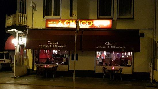 Bussum, Nederland: Voorzijde restaurant