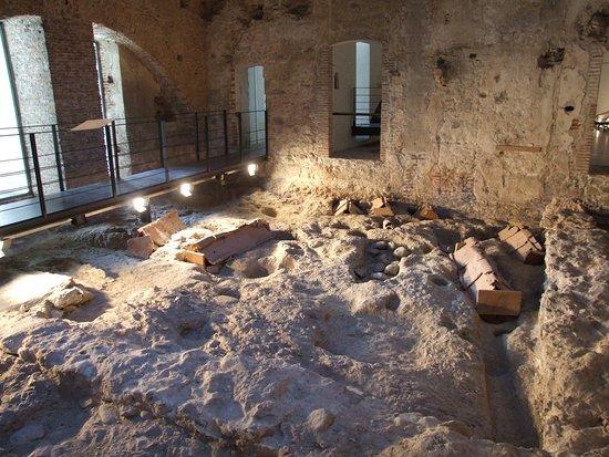 Savona, Italy: necropoli bizantina IV° sec.