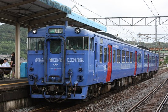 Kyushu-Okinawa, Japão: シーサイドライナー(喜々津)