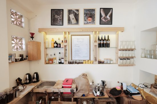 Brew and Breakfast: The bar