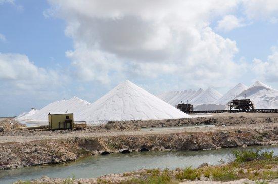 Kralendijk, Bonaire: salt pier on Bonaire