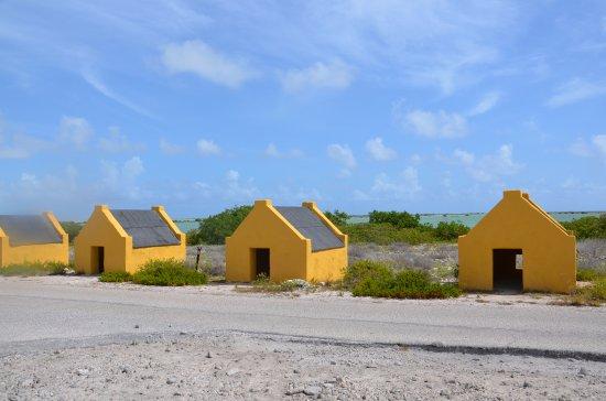 Kralendijk, Bonaire: Slave Huts visited during the tour