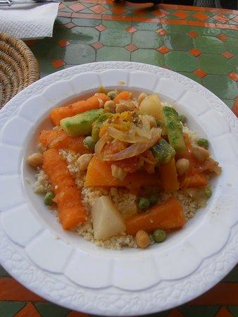 Shyadma's : Frisches Gemüse, alles super gewürzt!