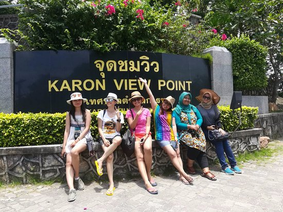 Kota Phuket, Thailand: My customer in Karon view point
