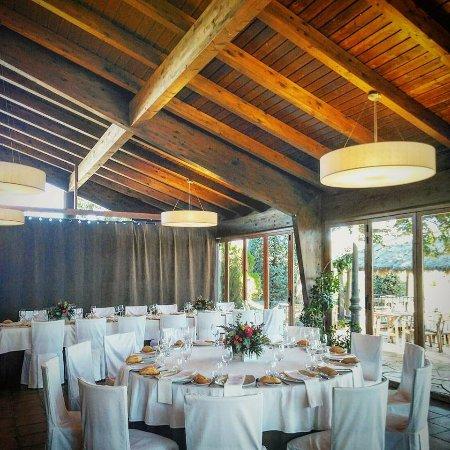 La luz de nuestro salón acristalado - Picture of Restaurante ...