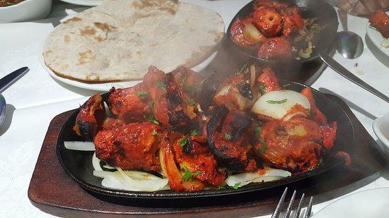Bengal Spices: Chicken tikka sizzling platter