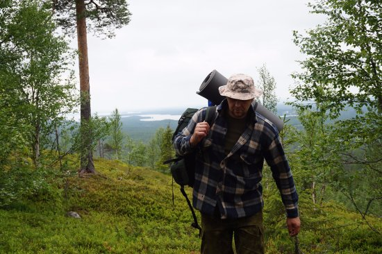 Jarvenpaa, Finland: Hiking and camping in wilderness