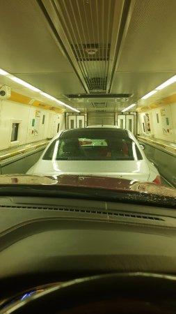 Coquelles, France : Eurotunnel