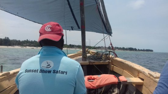 Vilanculos, Mozambik: Sunset Dhow Safari, Dhow/island trip