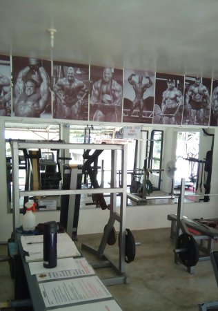 Panglao, Philippines: Pictures of the GYM