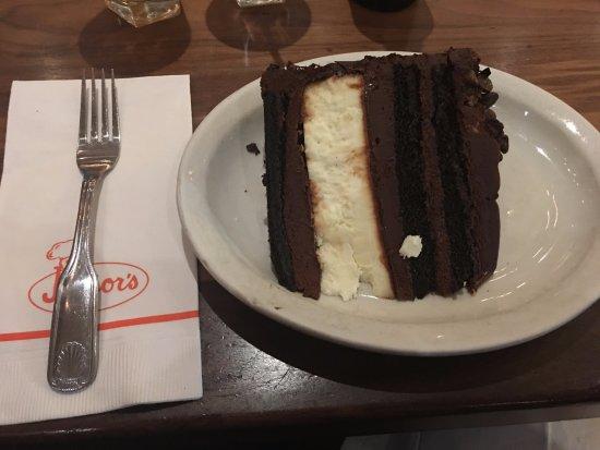 JR Restaurant: Devil's Food cheesecakes