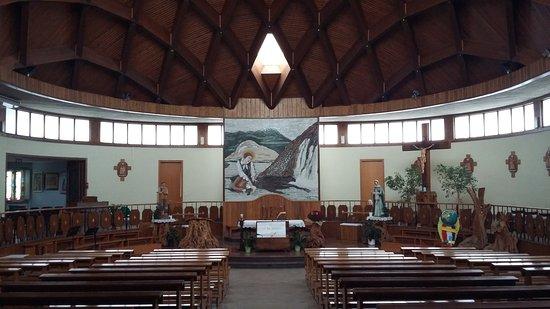Chiesa del Beato Nunzio Sulprizio Operaio: vista interna