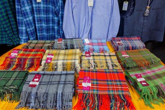 Waterville, Ireland: Merino Wool Scarfs