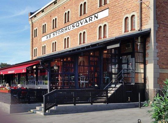 Nyköping, Sverige: Utemiljön