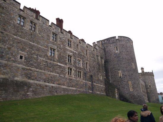 Windsor Castle: walls