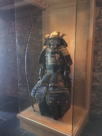 Marazion, UK: 日本の武将の甲冑も