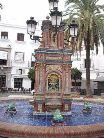 Vejer de la Frontera, España: Plaza de España.