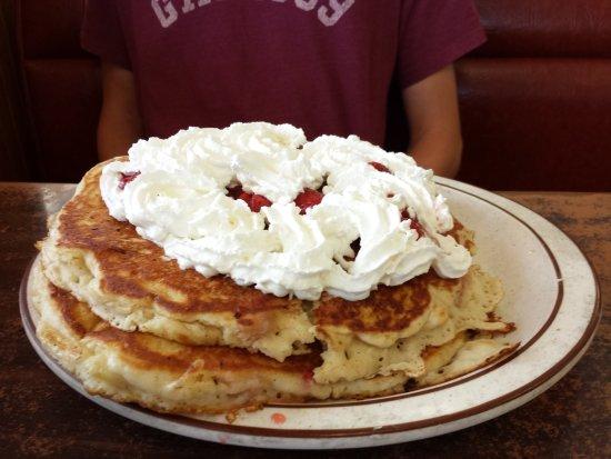 Ritzville, WA: Pancakes - yum, yum