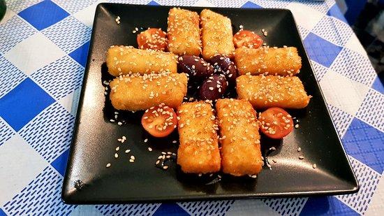 La Matanza de Acentejo, Spanien: Feta frita con miel