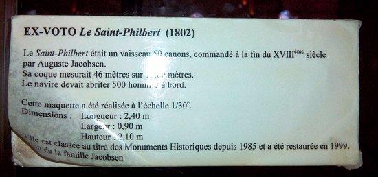 Eglise Saint-Philbert : Info sur la maquette
