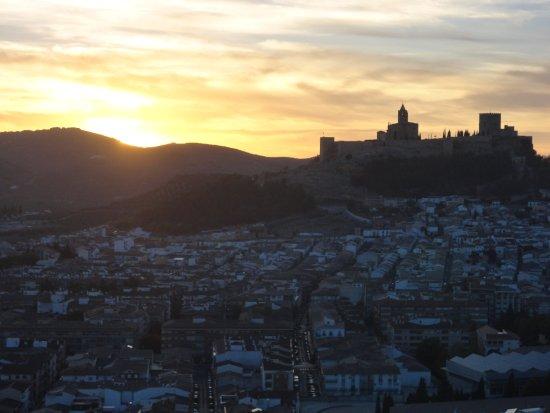 Hotel Torrepalma: Atardecer en Alcalá