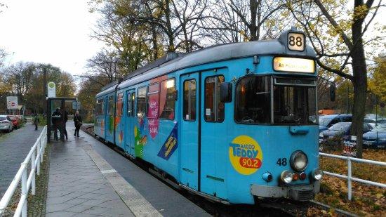 Schöneiche bei Berlin, Deutschland: One of the typical trams that operate on this little line