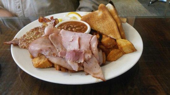 Chatham, Canada: Full English breakfast
