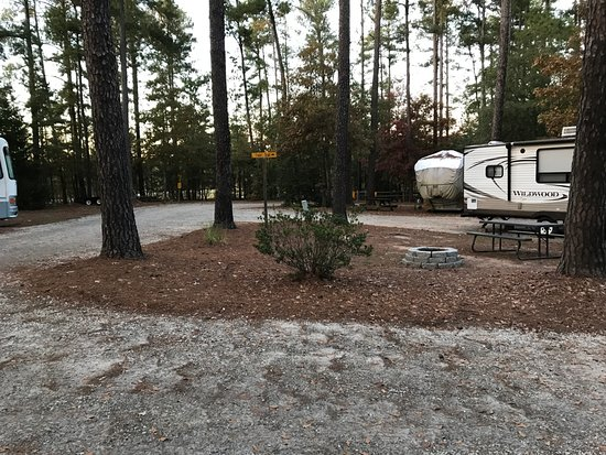 Anderson, SC: Nice sites, some with patios & fire pits