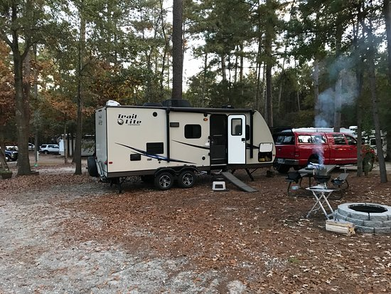 Anderson, SC: Comfortable and level sites