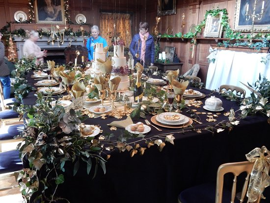 Tissington, UK: The dining room
