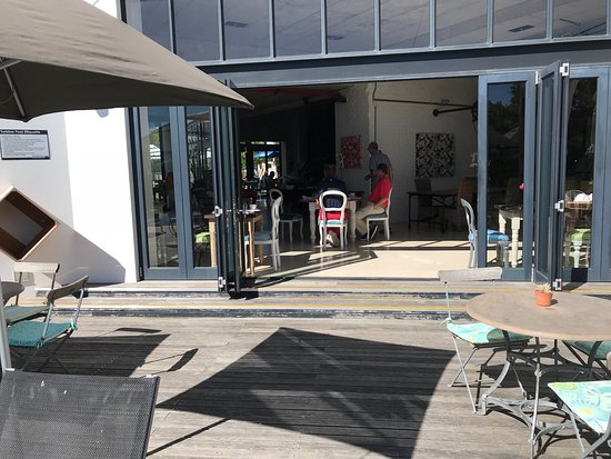 Uitzicht aan het zwembad picture of the turbine boutique for 56 west boutique and salon