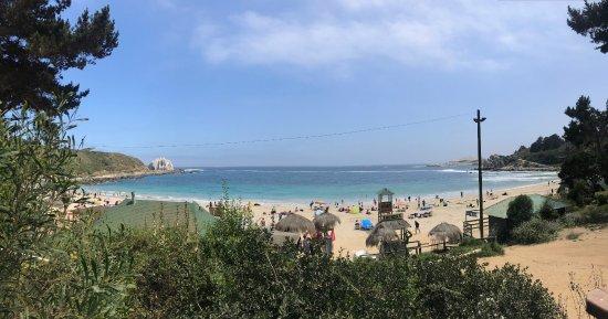 Playa Canelo: vista de la playa
