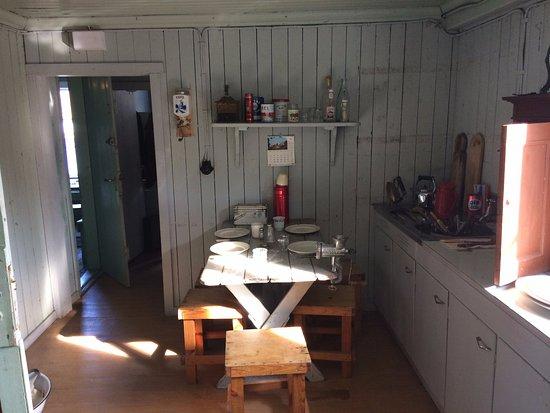 Siglufjordur, Ισλανδία: The worker's kitchen area as it was back then