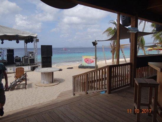 Coco Beach Bonaire: Sound stage