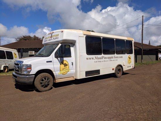 Makawao, HI: Shuttle bus