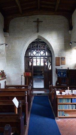 Lapworth, UK: Inside church
