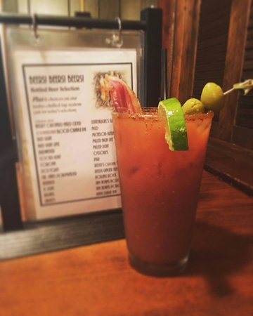 "Lisbon, OH: Ask any local, the ""Wright Bloodymary"" is the only way to start a morning"