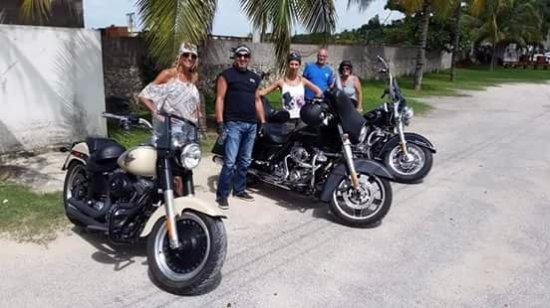 Costa Maya, Mexico: Harley Tour