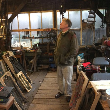 Μπόλτον, UK: In awe in Fred's Workshop
