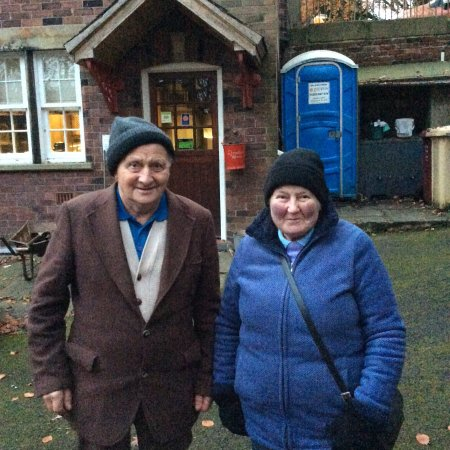 Bolton, UK: Jim and Margaret Wain