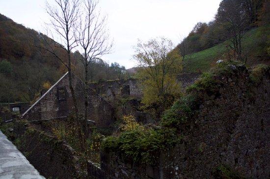 Hiriberri-Villanueva de Aezkoa, Spain: parte de las ruinas
