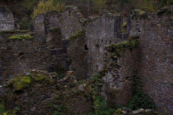 Hiriberri-Villanueva de Aezkoa, Spain: Ruinas de la fabrica