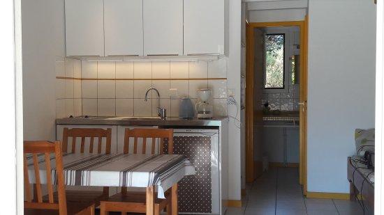 Village Club Dunea: Kitchenette bungalow